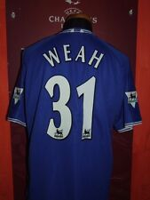 WEAH CHELSEA 1999/2000 MAGLIA SHIRT CALCIO FOOTBALL MAILLOT JERSEY SOCCER