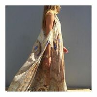 new CAMILLA FRANKS SILK SWAROVSKI GRANADA DREAM TIE FRONT DRESS KAFTAN layby ava