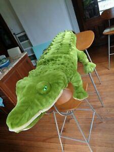 "Alligator Crocodile Stuffed Giant Plush 76"" Long Toy Melissa and Doug"