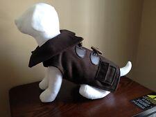 HUMANE SOCIETY Pet Dog Brown Wool Blend Coat - Size XS - NWT