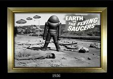 MAGNET  Movie Monster Photo Magnet EARTH vs THE FLYING SAUCERS 1956