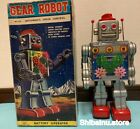 Horikawa Toys GEAR ROBOT with AUTOMATIC SPEED CONTROL 1960s 275mm Rare Japan