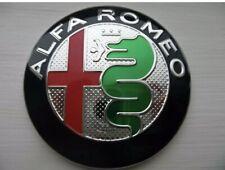 2 Badges Logo Emblème Métal Alfa Romeo 147,159,Gt,mito,166,156 Capot Coffre