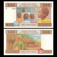 Central African(Congo),  500 Francs, 2002, P-106T , UNC