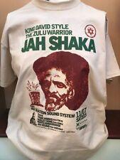 JAH SHAKA ZULU SOUND SYSTEM T SHIRT DUB REGGAE KING TUBY MIKEY DREAD