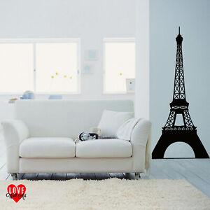 Eiffel Tower Paris France vinyl wall art sticker