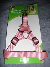 """Pet Inc Step In Dog Harness (Medium) 5/8"""" x 14""""-20""""  PINK.   NEW in Package"""
