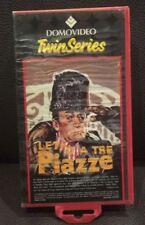 VHS - I TRE LADRI + LETTO A TRE PIAZZE di A.A.V.V. [DOMOVIEO TWIN SERIES]