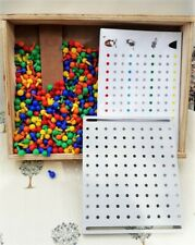 Practica Educational Pegboard Set with 35 Activity cards