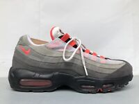 Nike Air Max 95 OG Solar Red White Grey Black Mens Size US 9 Rare AT2865-100