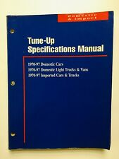 Mitchell Tune Up Manual Specifications Guide Domestic Import Cars Trucks & Vans