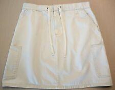 Route 66 Light Khaki Tan Casual Women's Short Skirt Size 12