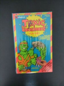 The Toxic Crusaders Colorforms play set