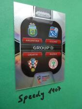 Panini PRIZM World Cup 2018 Russia GROUP STAGE  Group D GS-D REFRACTOR