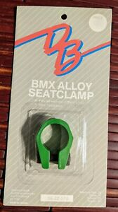 Diamond Back NOS Bmx 25.4 Seat Clamp in Green old school BMX Hot streak GT frees