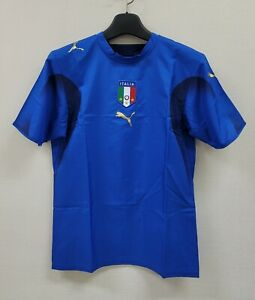 2006 ITALY Home S/S BNWT 06 Germany WorldCup 3 three star Shirt Jersey Trikot