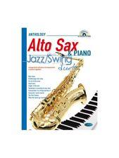 JAZZ SWING duetti per Alto Sax & Pianoforte impara a suonare musica LIBRO & CD Sassofono
