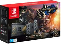 Nintendo Switch Monster Hunter Rise Edition Console Brand NEW