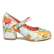 IRON FIST SPRING FLING CARE BEARS BLOCK HEELS SHOES
