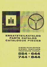 Ersatzteilkatalog IHC 554 644 744 844 Ersatzteilliste MI