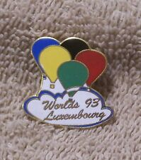 WORLDS 93 LUXEINBOURG BALLOON PIN