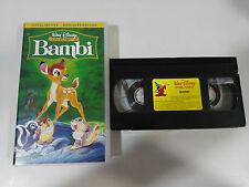BAMBI VHS CINTA TAPE WALT DISNEY LOS CLASICOS COLECCIONISTA CASTELLANO