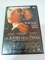 La Joven de la Perla Colin Firth - Region 2 DVD Español Ingles - 2T