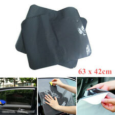 2x Car SUV Auto Rear Side Window Sun Shade Mesh Film Sticker UV Protection Large