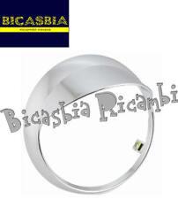 7818 GHIERA FARO FANALE ANTERIORE PLASTICA CROMATA VESPA 50 PRIMAVERA DAL 2013