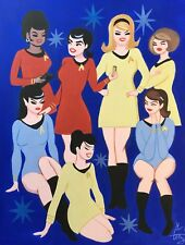 EL GATO GOMEZ RETRO OUTER SPACE SCI-FI STAR TREK ORIGINAL TV SERIES PINUP GIRLS