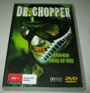 Dr Chopper DVD Coastas Mandylor - B-GRADE HORROR SLASHER MOVIE - REGION 4
