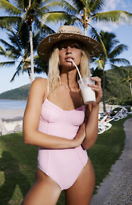 Free People Zulu Zephyr Pink Fever One Piece Size 10 US