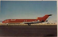 Braniff international Boeing 727-227 Postcard  Vintage Unposted
