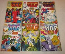 THE INFINITY WAR #1,2,3,4,5,6 (Complete Set; VF/NM)