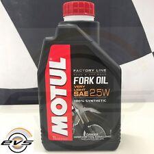 OLIO FORCELLA MOTUL FORK OIL FACTORY LINE SAE 2.5W 100% SINT Moto Alte Prestaz