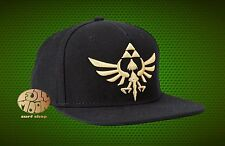 New Nintendo The Legend Of Zelda Triforce Snapback Cap Hat