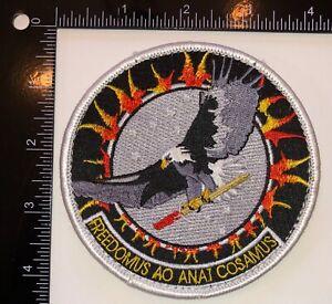 USAF US Air Force Flight Test Center Area 51 Detachment 3 NAMED General Patch #1
