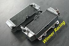 Yamaha YZ250F 2001-2005;WR250F 2001-2006 aluminum radiator 2002 2003 2004 R&L