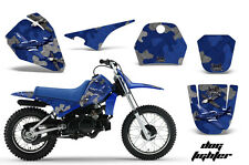 Dirt Bike Decal Graphic Kit Sticker Wrap For Yamaha PW80 PW 80 1996-2006 DOGFT U