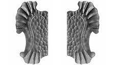 Railheads - Wrought Iron Gates - Gate plates - right / left side