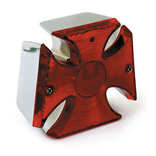 MOTORCYCLE STOREHOUSE CLASSIC MALTESE CROSS TAILLIGHT QUALITY PART BC18428 - T