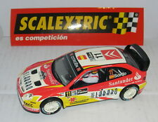 Kinderrennbahnen Capable Scalextric Citroen Ds3 Wrc #7 .attiyah-bernacchini Only In Sets.mint Unboxed Spielzeug