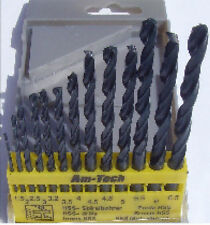 13Pc hss haute vitesse twist drill bit set bois plastique métal métrique 1.5mm - 6.5mm