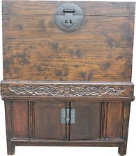 Large Chinese Chest - Large Compound Cabinet Chest Trunk  (05-026)