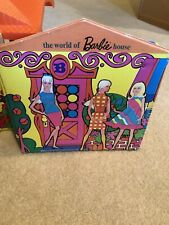 Vintage The World of Barbie Family House Mattel Doll