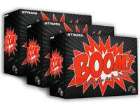 Strata Boom! Golf Balls - 6 Dozen White -  Mens
