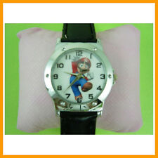 Super Mario Bros. Men Boy Women Girl Kids Fashion Quartz Wrist Watch + Charm