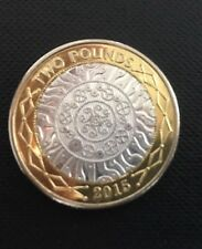 2015 Royal Mint Technology Proof (I assume) Two Pound Coin Good Condition