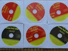 6 CDG LOT OLDIES ROCK KARAOKE - STYX,CHEAP TRICK,BEATLES,BILLY IDOL CD+G