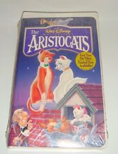 DISNEY THE ARISTOCATS ON VHS NEW SEALED WALT DISNEY'S MASTERPIECE CLAMSHELL